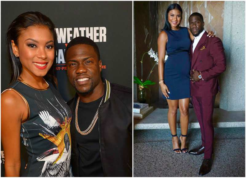 Kevin Hart's family - wife Eniko Parrish