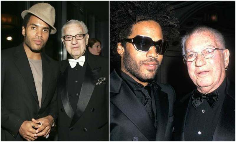 Lenny Kravitz's family - father Seymour Kravitz