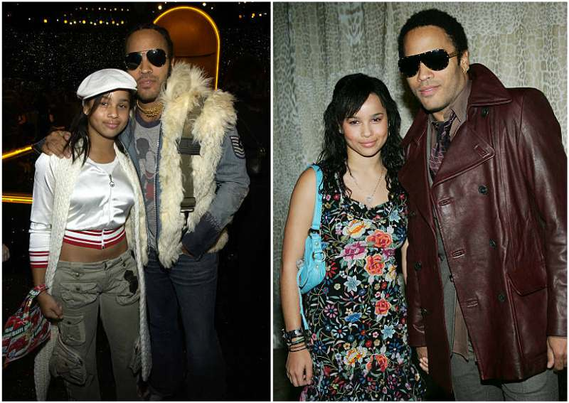 Lenny Kravitz and Lisa Bonet's children - daughter Zoe Isabella Kravitz
