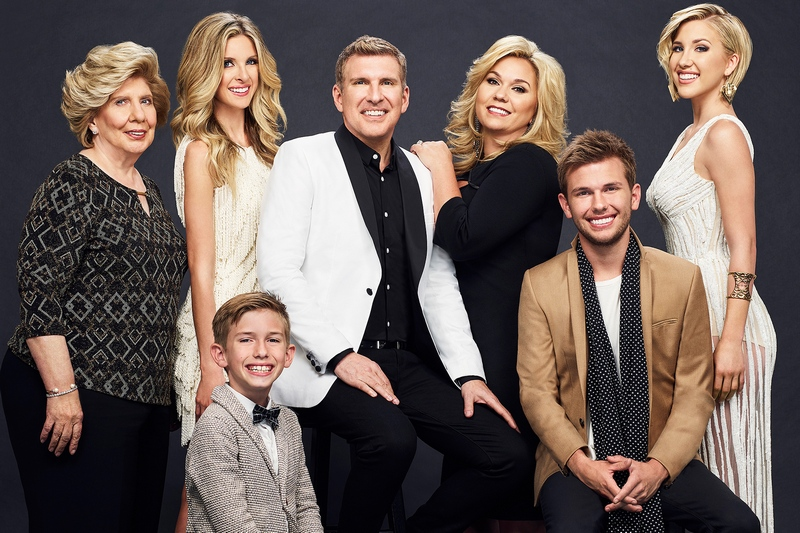 Todd Chrisley's family