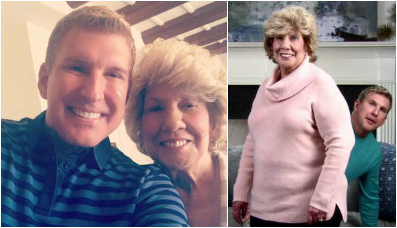 Todd Chrisley's family - mother Faye Chrisley