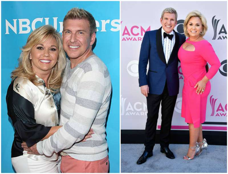 Todd Chrisley's family - wife Julie Chrisley