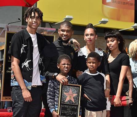 Usher's family