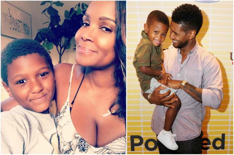 Usher's children - son Usher Raymond V