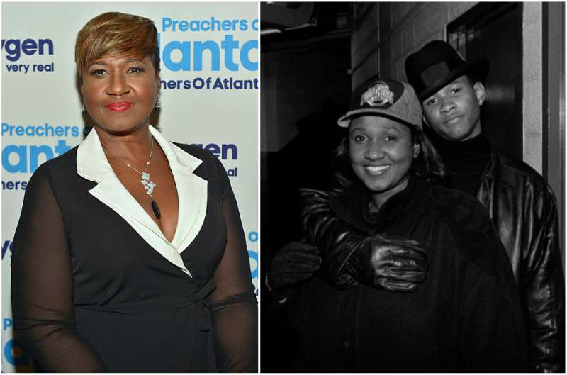 Usher's family - mother Jonetta Patton
