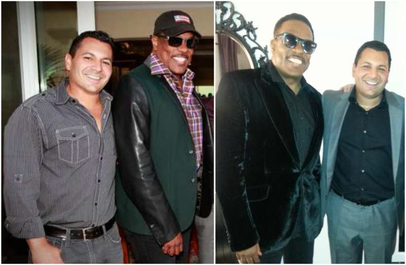Charlie Wilson's family - step-son Michael Paran