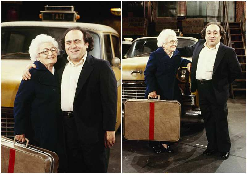 Danny DeVito's family - mother Julia DeVito