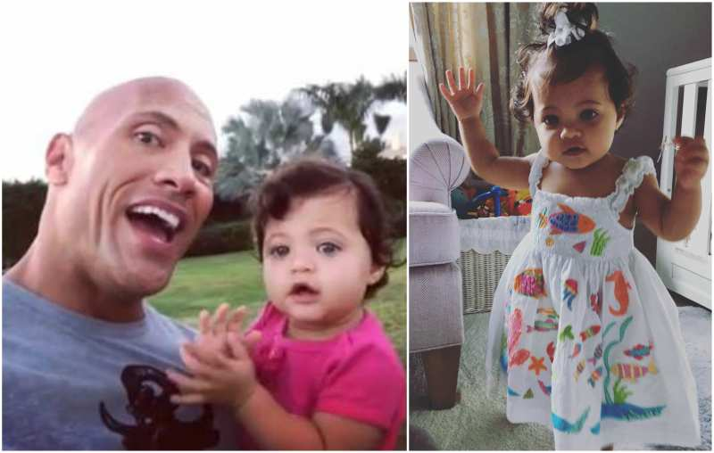 Dwayne Johnson's children - daughter Jasmine Johnson