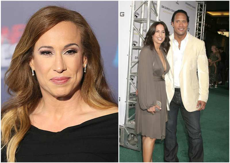Dwayne Johnson's family - ex-wife Dany Garcia