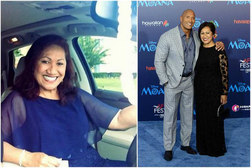 Dwayne Johnson's family - mother Feagaimaleata Fitisemanu Johnson