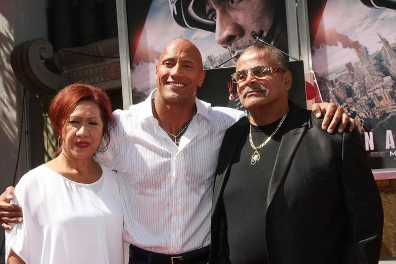 Dwayne Johnson's family - parents