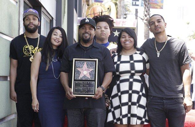 Ice Cube's family