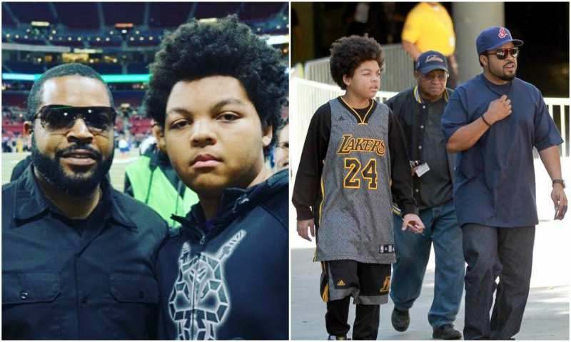 Ice Cube's children - son Shareef Jackson