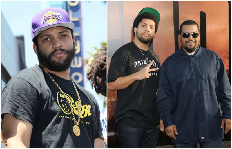 Ice Cube's children - son O'Shea Jackson Jr.