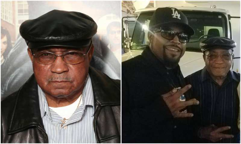 Ice Cube's family - father Hosea Jackson