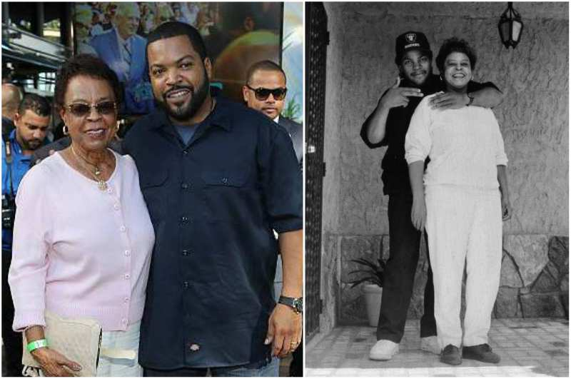 Ice Cube's family - mother Doris Benjamin