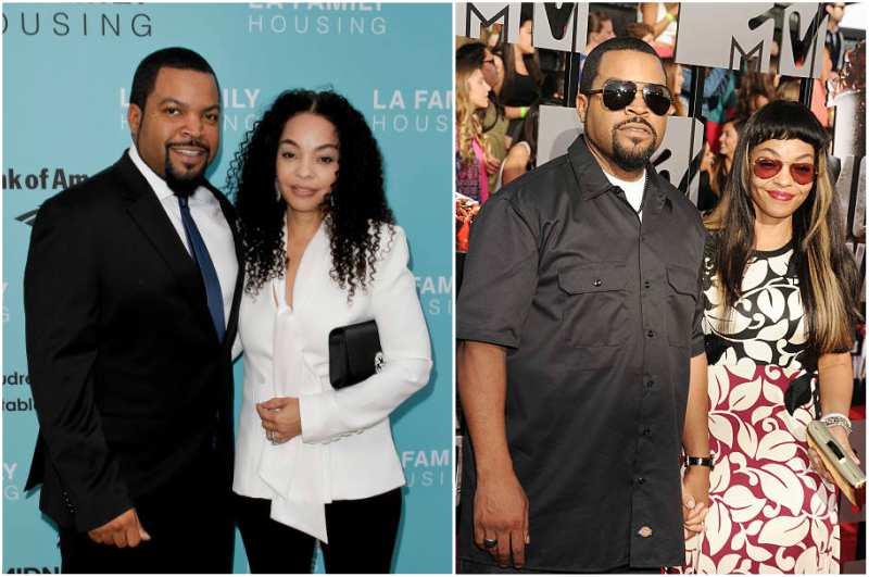 Ice Cube's family - wife Kimberly Woodruff