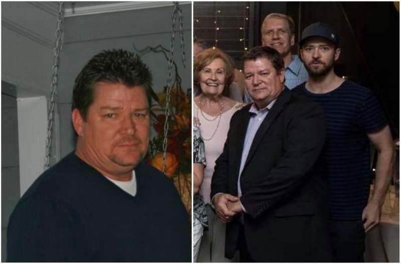 Justin Timberlake's family - father Randall Timberlake