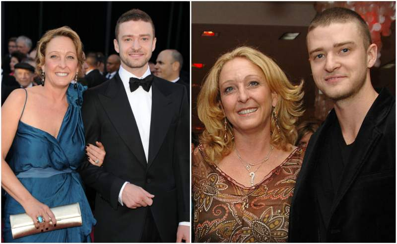 Justin Timberlake's family - mother Lynn Boman Harless