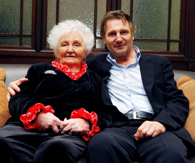 Liam Neeson's family - mother Katherine Brown