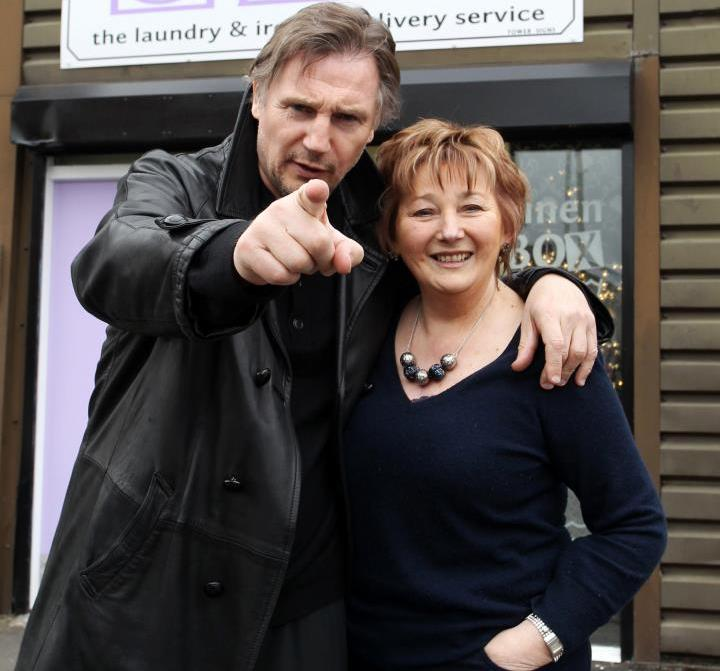 Liam Neeson's siblings - sister Elizabeth Connaughton