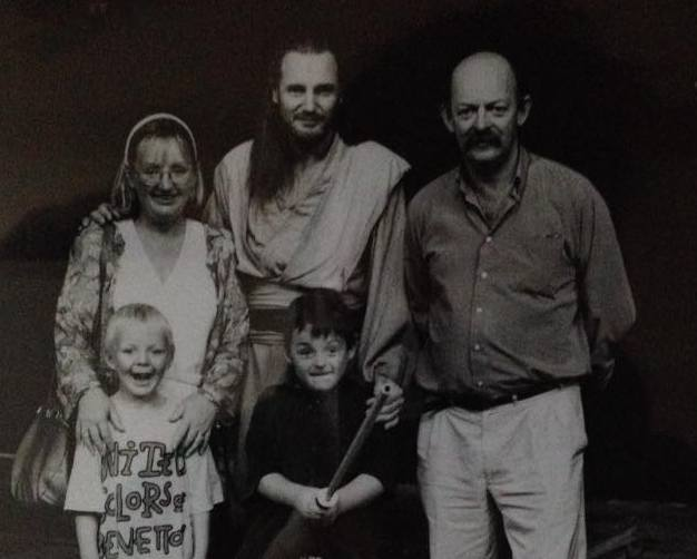 Liam Neeson's siblings - sister Rosaleen Agnew (nee Neeson)
