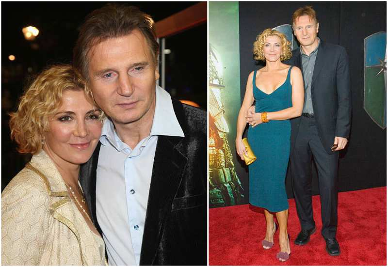 Liam Neeson's family - late wife Natasha Richardson