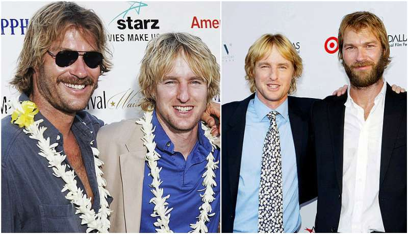 Owen Wilson's siblings - brother Andrew Wilson
