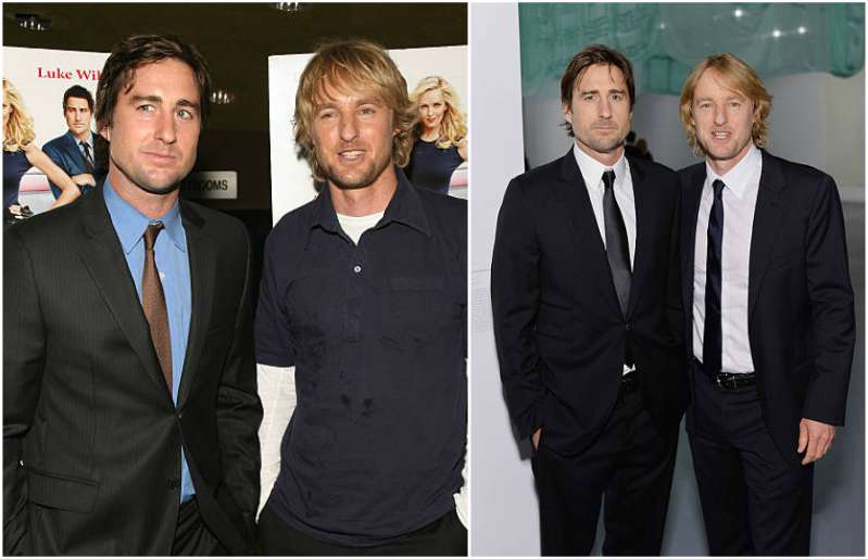 Owen Wilson's siblings - brother Luke Wilson