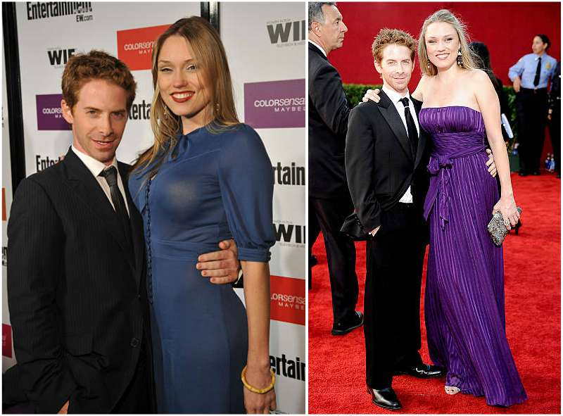 Seth Green's family - wife Clare Grant