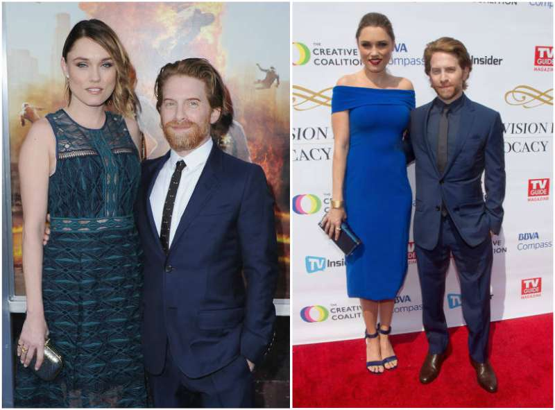 Seth Green's family - wife Claire Grant