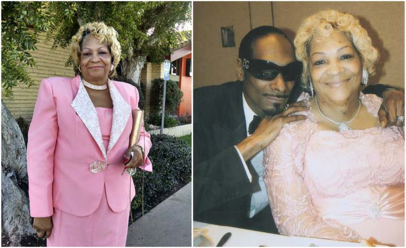 Snoop Dogg's family - mother Beverly Broadus Green