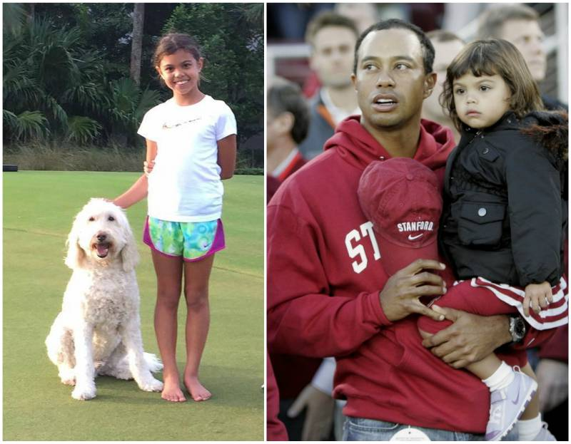 Tiger Woods' children - daughter Sam Alexis Wood