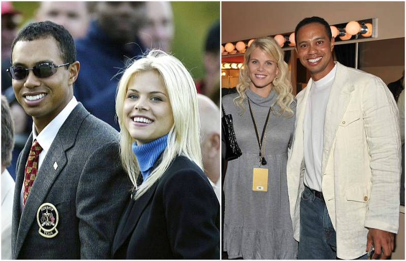 Tiger Woods' family - ex-wife Elin Maria Nordegren