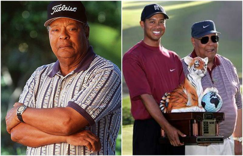 Tiger Woods' family - father Earl Woods Sr.