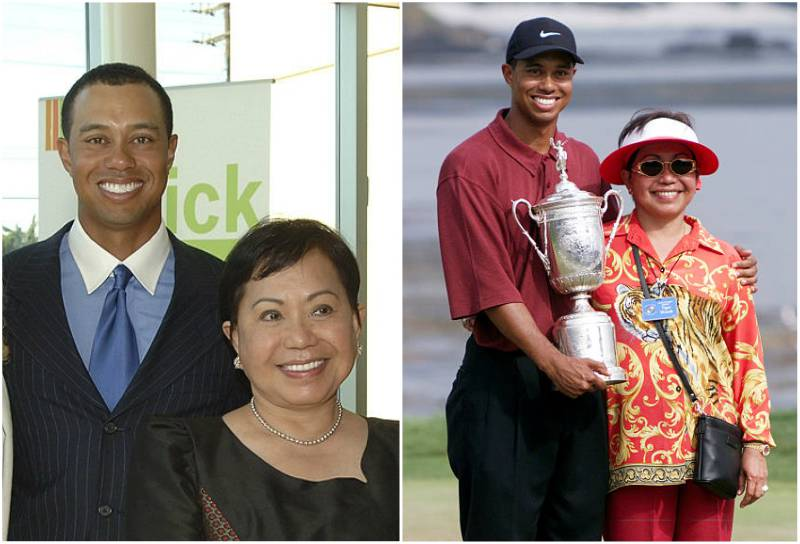 Tiger Woods' family - mother Kultida Woods