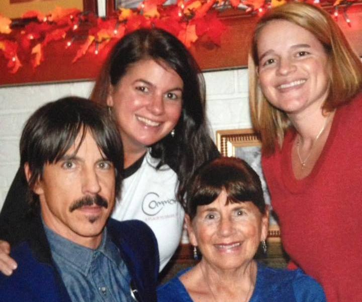Anthony Kiedis' family - mother and half-sisters