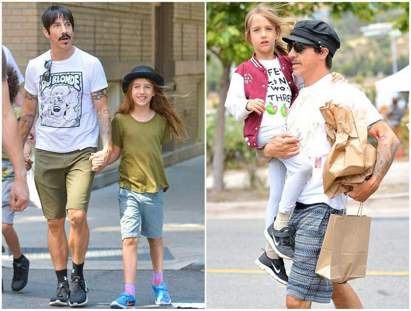Anthony Kiedis' children - son Everly Bear Kiedis