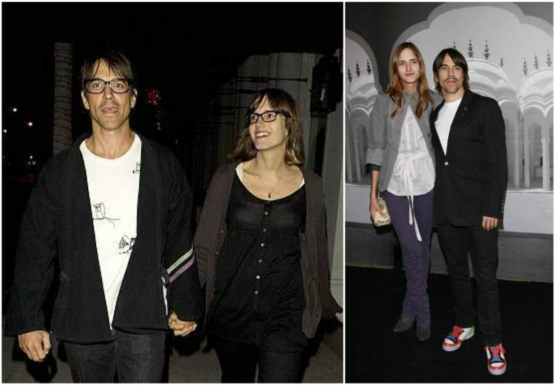 Anthony Kiedis' family - ex-wife Heather Christie