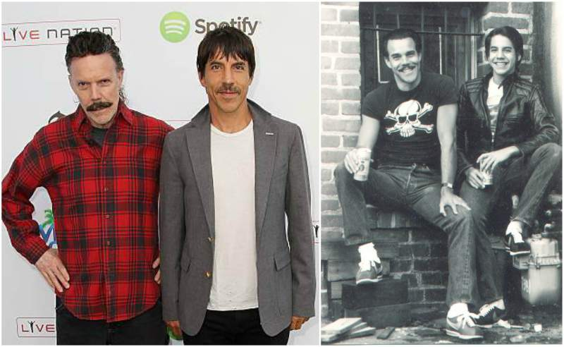 Anthony Kiedis' family - father Blackie Dammett