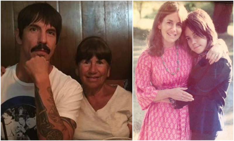 Anthony Kiedis' family - mother Peggy Idema