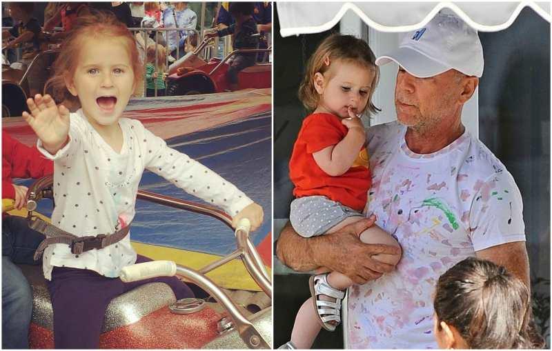 Bruce Willis' children - daughter Evelyn Penn Willis