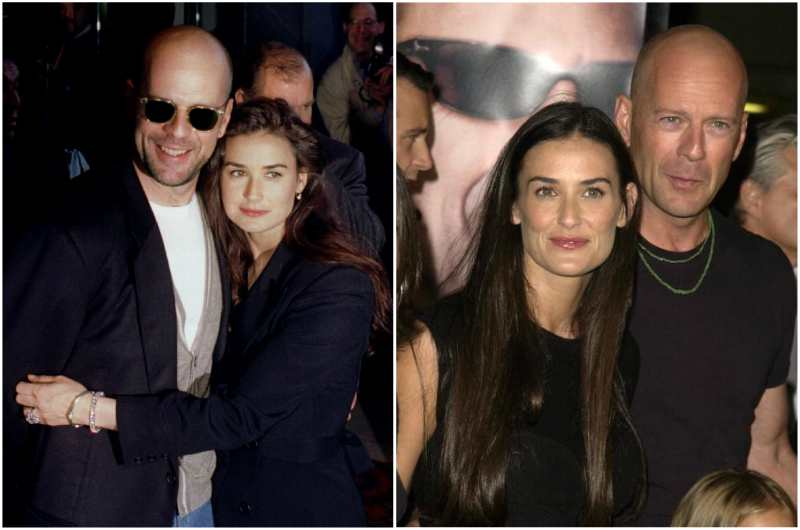 Bruce Willis' family - ex-spouse Demi Moore