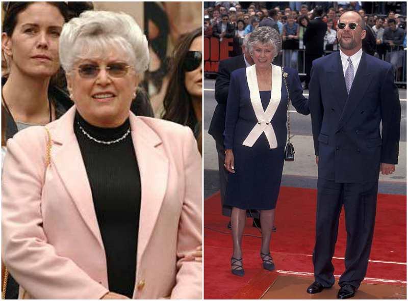 Bruce Willis' family - mother Marlene Willis