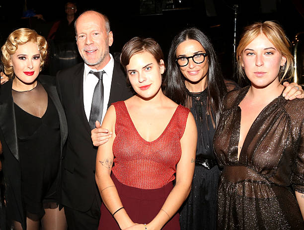 Demi Moore's family - ex-husband Bruce Willis and daughters