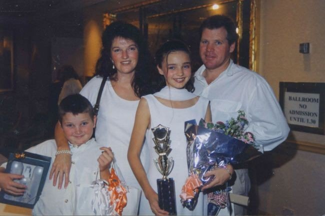 Miranda Kerr's family