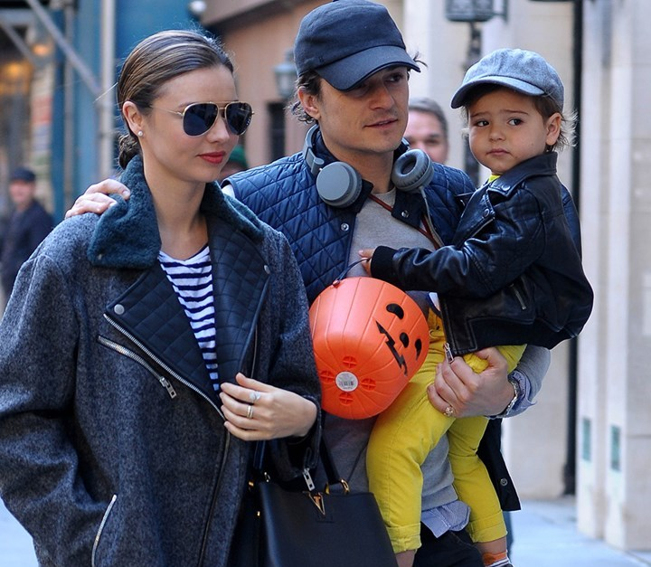 Miranda Kerr and Orlando Bloom's children - son Flynn Bloom