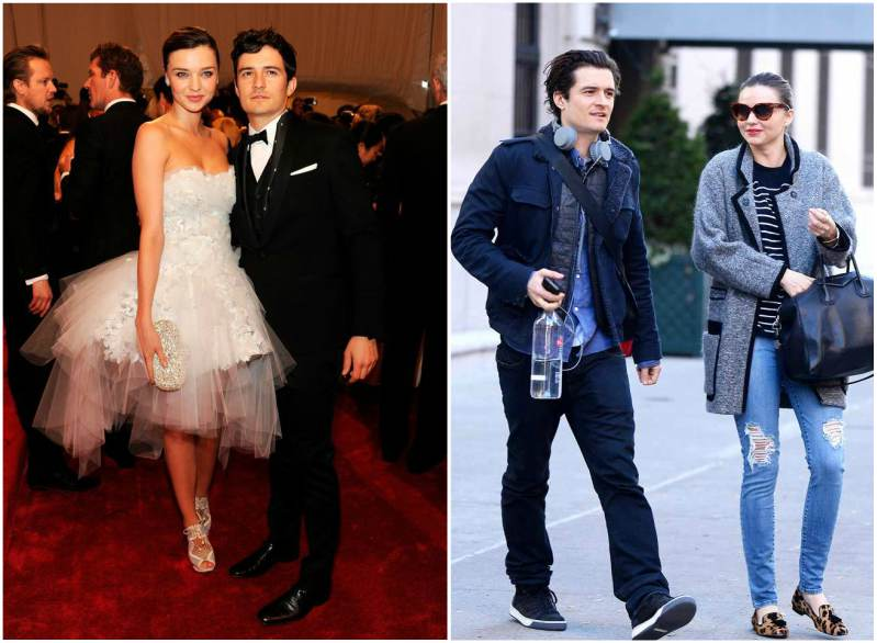 Miranda Kerr's family - ex-husband Orlando Bloom