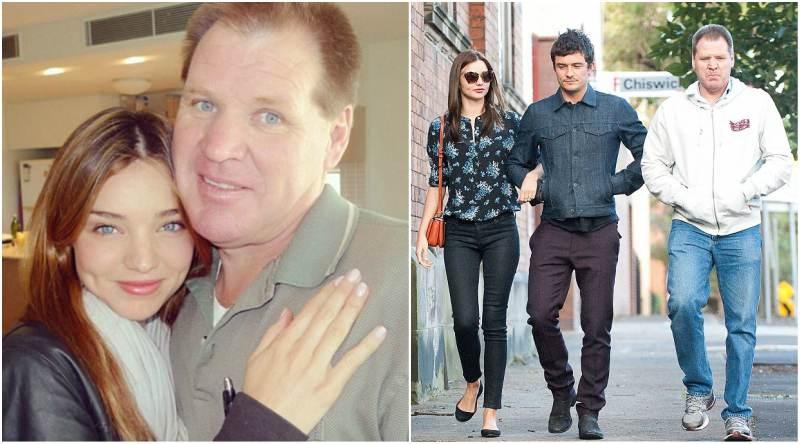Miranda Kerr's family - father John Kerr