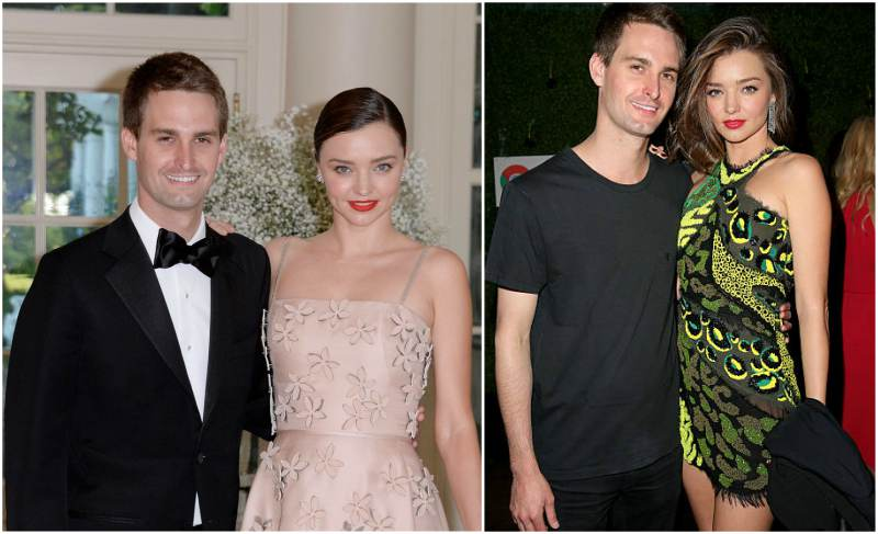 Miranda Kerr's family - husband Evan Spiegel